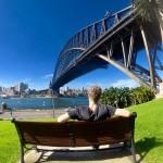 Daniel si pobyt v Austrálii vychutnával