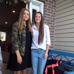 Rebeka s hosťovskou sestrou
