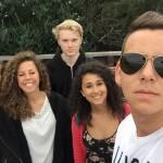 Adam s medzinárodnými študentami, Austrália 9/8/2016
