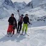 Nemecké hory sa Chiare veľmi páčili
