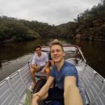Daniel v Austrálii zažil mnohé dobrodružstvá