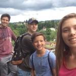 Gretka s hosť bratmi, Švajčiarsko 2/8/2016