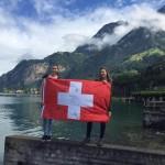Gretka s kamarátkou, Švajčiarsko 2/8/2016