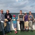 Takúto fotku nám poslal Juraj z trajektu smerom na Ostrov Princa