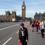 Katka sa odfotila s ikonickým Big Benom počas svojho pobytu v Británii