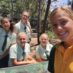 Laura v Austrálii získala nové kamarátky