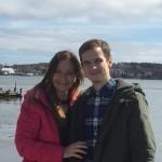Paľko s mamou v Novej Scotii, Kanada, marec 2016