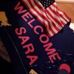 Sárino privítanie, USA, 6/8/2016