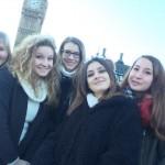 Zdenka s kamarátkami na výlete v Londýne, Veľká Británia 9/5/2016