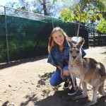 Laura s kengurou:) Alexandra Hills, Austrália 18/08/2016